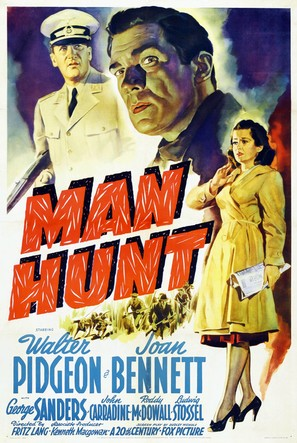 Man Hunt - Movie Poster (thumbnail)