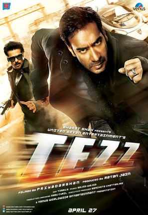 Tezz - Indian Movie Poster (thumbnail)