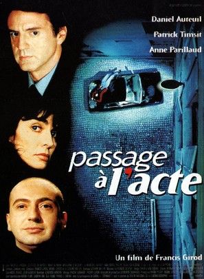 Passage à l'acte - French Movie Poster (thumbnail)