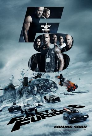 The Fate of the Furious - Movie Poster (thumbnail)