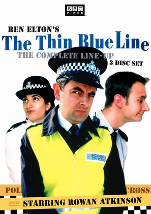 """The Thin Blue Line"" - British poster (thumbnail)"