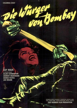 The Stranglers of Bombay - German Movie Poster (thumbnail)