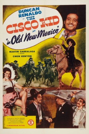 The Cisco Kid in Old New Mexico - Movie Poster (thumbnail)