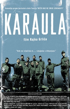 Karaula - Croatian Movie Poster (thumbnail)