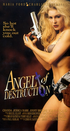 Angel of Destruction - VHS movie cover (thumbnail)