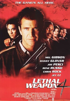 Lethal Weapon 4 - Movie Poster (thumbnail)