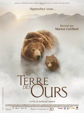 Terre des ours - French Movie Poster (thumbnail)
