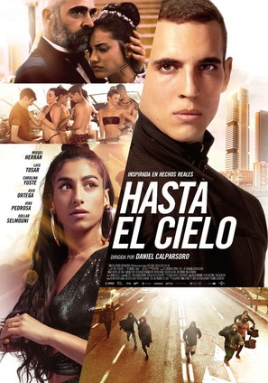 Hasta el cielo - Spanish Movie Poster (thumbnail)