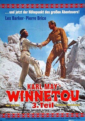 Winnetou - 3. Teil - German Movie Poster (thumbnail)