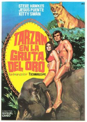 Tarzán en la gruta del oro - Spanish Movie Poster (thumbnail)