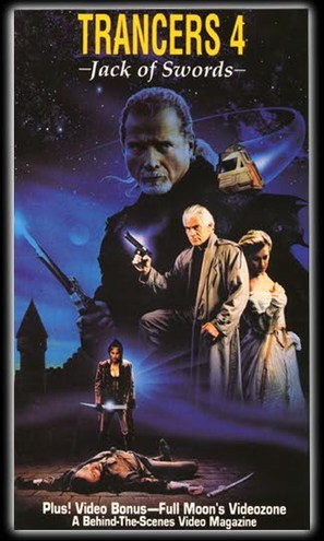 Trancers 4: Jack of Swords - VHS movie cover (thumbnail)