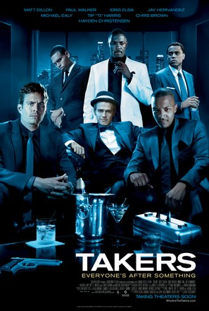 Takers - Movie Poster (thumbnail)