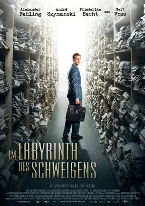Im Labyrinth des Schweigens - German Movie Poster (thumbnail)