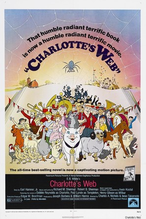 Charlotte's Web - Theatrical poster (thumbnail)