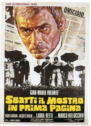 Sbatti il mostro in prima pagina - Italian Movie Poster (thumbnail)