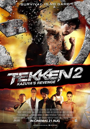 Tekken: A Man Called X - Malaysian Movie Poster (thumbnail)