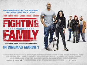 Fighting with My Family - British Movie Poster (thumbnail)