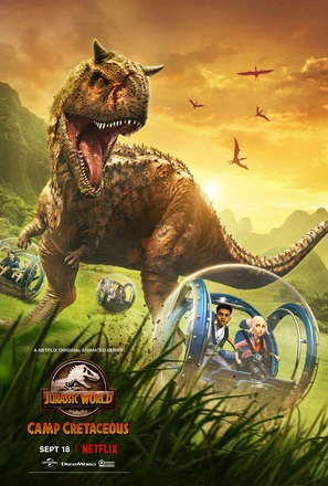 """Jurassic World: Camp Cretaceous"" - Movie Poster (thumbnail)"