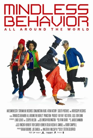 Mindless Behavior: All Around the World - Movie Poster (thumbnail)