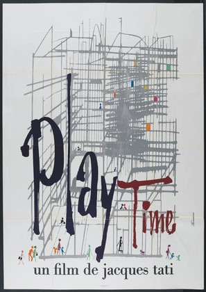 Play Time - French Movie Poster (thumbnail)