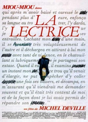 La lectrice - French Movie Poster (thumbnail)