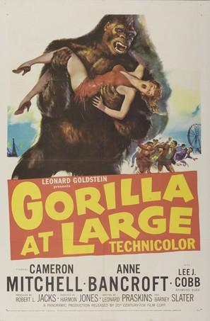 Gorilla at Large - Movie Poster (thumbnail)