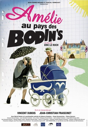 Amélie au pays des Bodin's - French Movie Poster (thumbnail)
