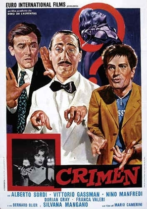 Crimen - Italian Movie Poster (thumbnail)