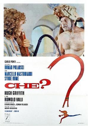Che? - Italian Movie Poster (thumbnail)