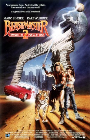 Beastmaster 2: Through the Portal of Time - Movie Poster (thumbnail)