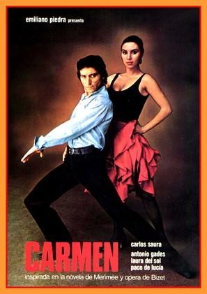 Carmen - Spanish Movie Poster (thumbnail)