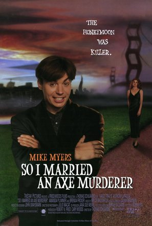 So I Married an Axe Murderer - Movie Poster (thumbnail)