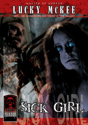 """""""Masters of Horror"""" Sick Girl - German DVD movie cover (thumbnail)"""