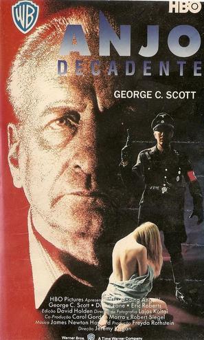 Descending Angel - Brazilian VHS movie cover (thumbnail)