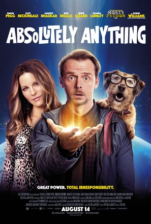 Absolutely Anything - British Movie Poster (thumbnail)