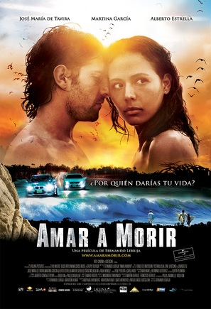 Amar a morir - Mexican Movie Poster (thumbnail)