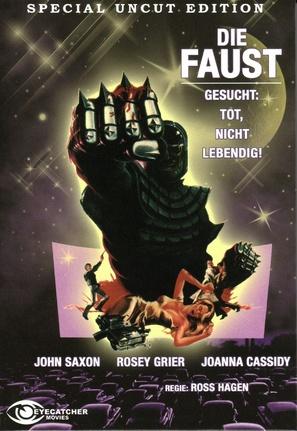 The Glove - German DVD movie cover (thumbnail)