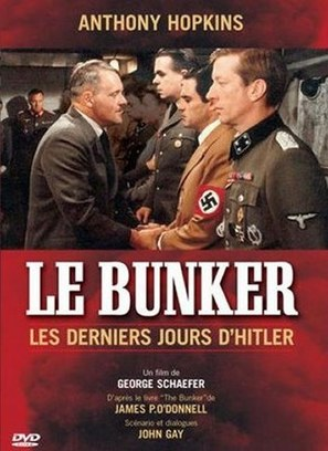 The Bunker - French DVD movie cover (thumbnail)