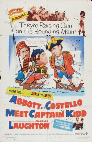 Abbott and Costello Meet Captain Kidd - Movie Poster (thumbnail)