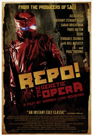 Repo! The Genetic Opera - Movie Poster (thumbnail)