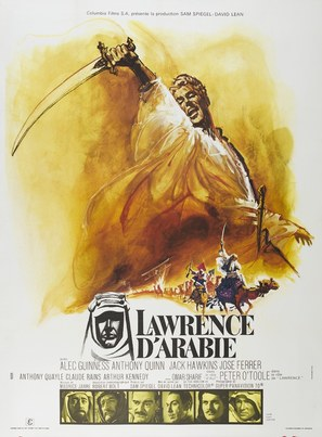 Lawrence of Arabia - French Movie Poster (thumbnail)