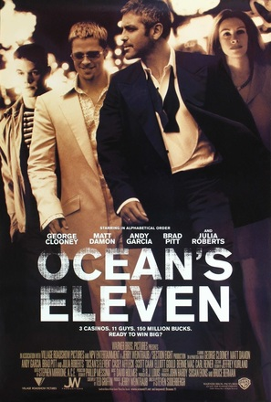 Ocean's Eleven - Movie Poster (thumbnail)