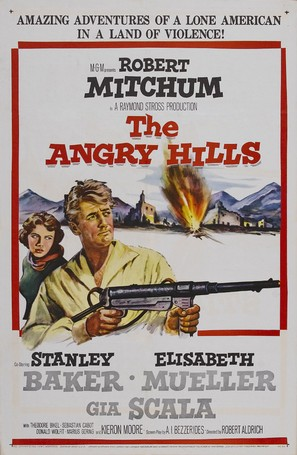 The Angry Hills - Movie Poster (thumbnail)