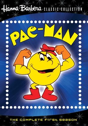 """""""Pac-Man"""" - DVD movie cover (thumbnail)"""