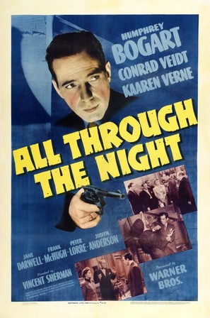 All Through the Night - Movie Poster (thumbnail)