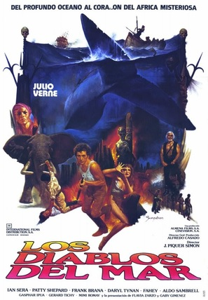 Los diablos del mar - Spanish Movie Poster (thumbnail)