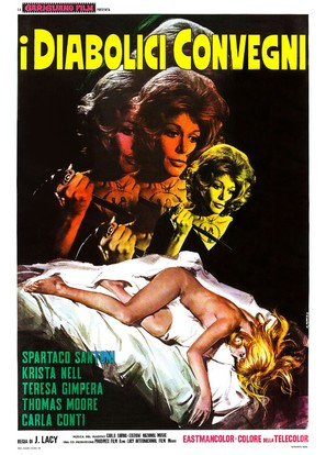 Las amantes del diablo - Italian Movie Poster (thumbnail)