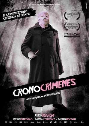 Los cronocrímenes - Spanish Movie Poster (thumbnail)