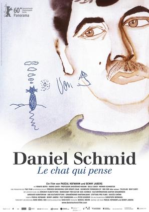 Daniel Schmid - Le chat qui pense - Swiss Movie Poster (thumbnail)