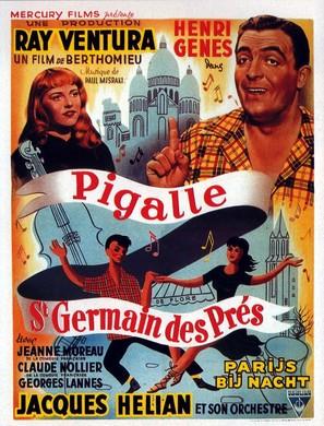 Pigalle-Saint-Germain-des-Prés - Belgian Movie Poster (thumbnail)